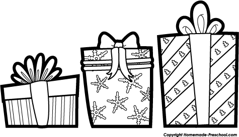 Christmas  black and white black and white merry christmas clipart 2
