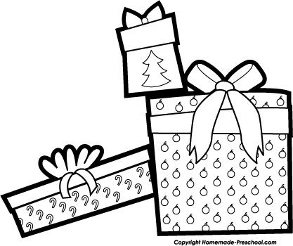 Christmas  black and white christmas clip art black and white merry 2