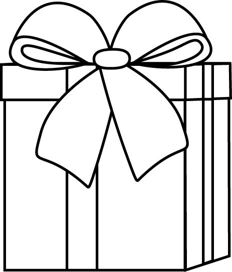 Christmas  black and white coloring clip art and graphics on