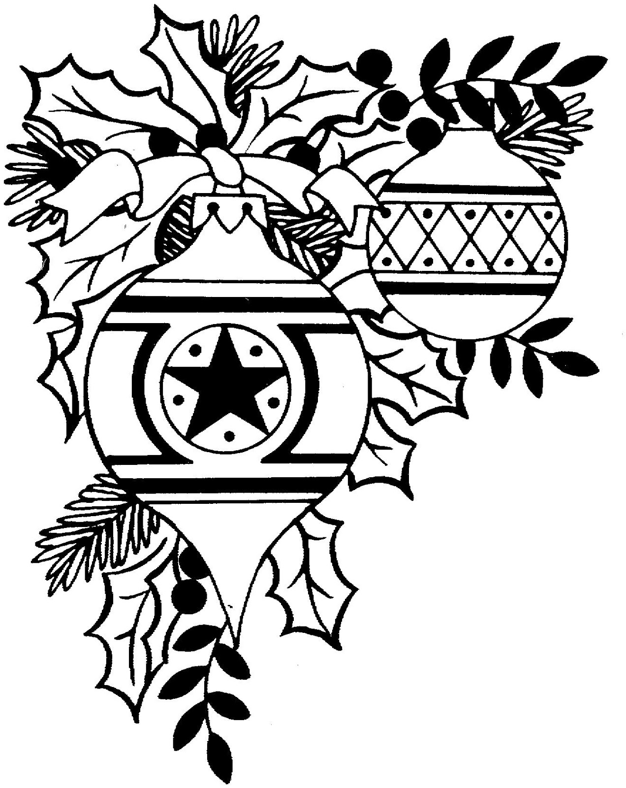Christmas  black and white free christmas clip art black and white 5