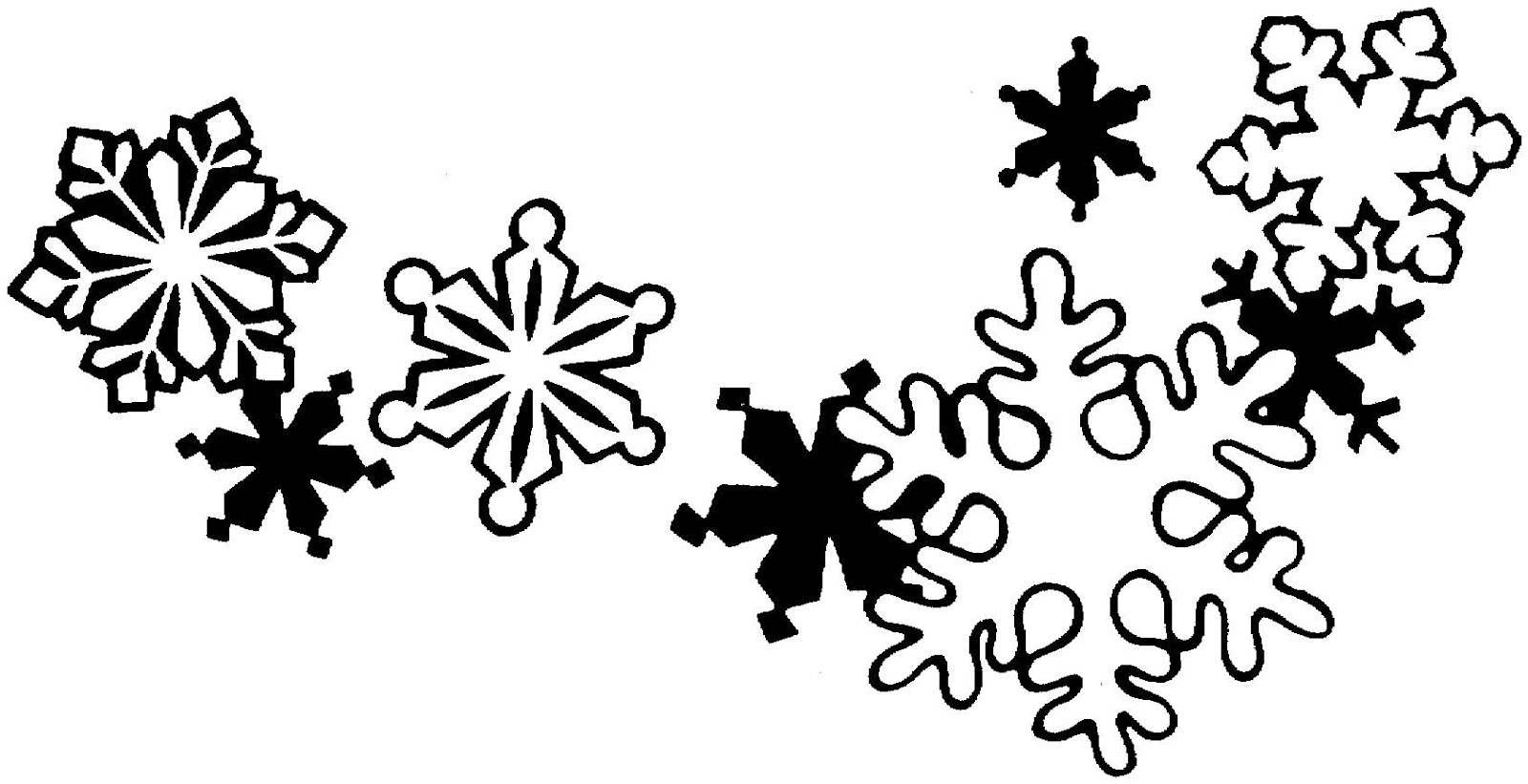 Christmas  black and white free christmas clip art black and white 7
