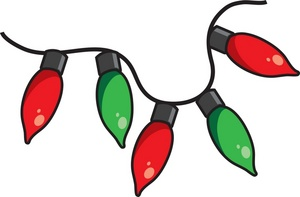 Christmas lights clipart free images 2