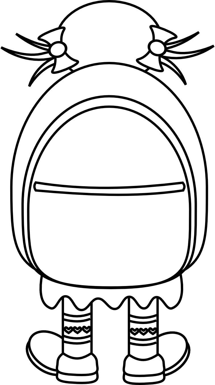 Clip art backpack clipart 2