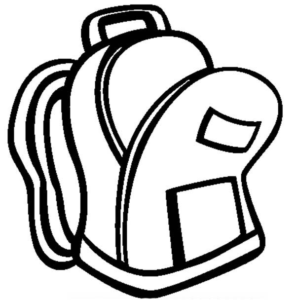 Clip art backpack clipart 3
