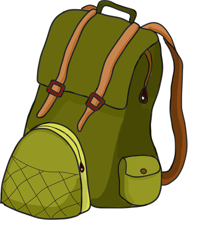 Clip art backpack clipart 5