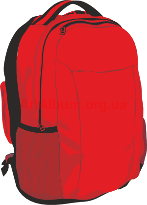 Clip art backpack clipart