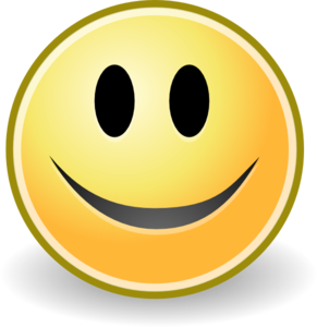 Clip art cartoon smile clipart