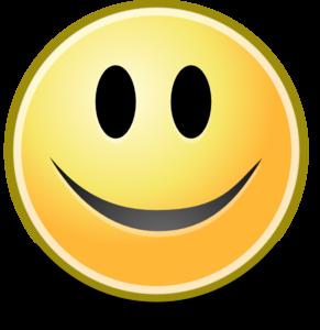 Clip art cartoon smile clipart