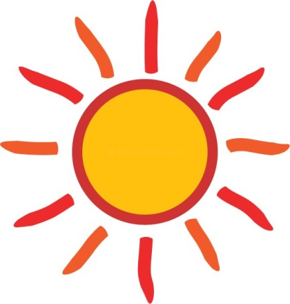 Clip art free sun