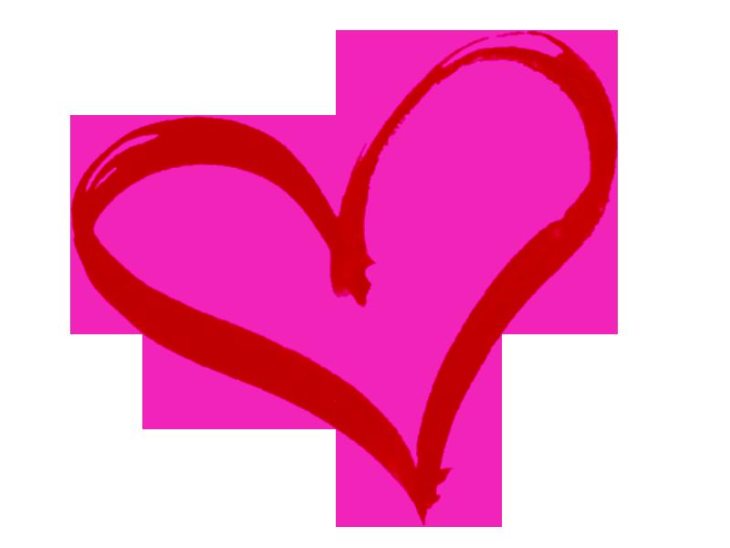 Clip art heart outline free clipart images 6