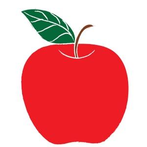 Clip art of apple
