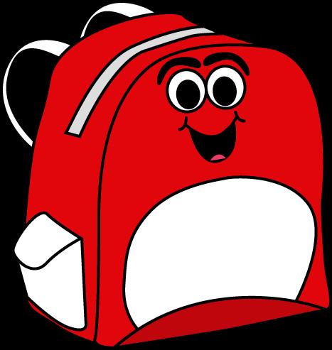 Clip art school backpack clipart 3