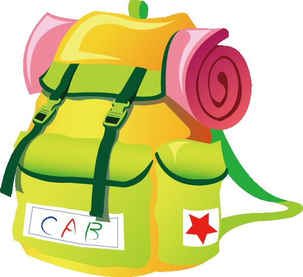 Clip art school backpack clipart 4