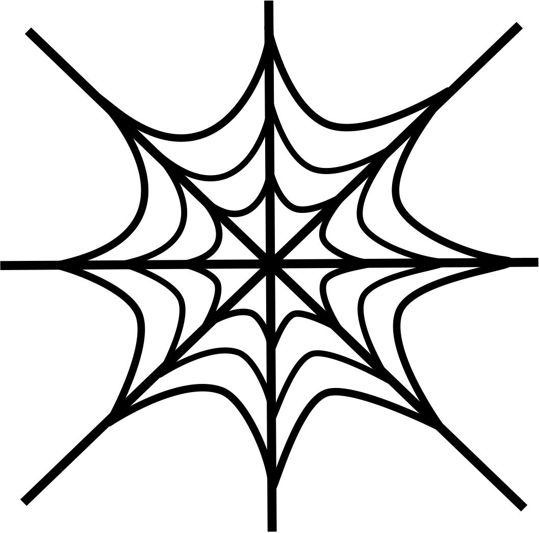 Clip art spider web clipart 3