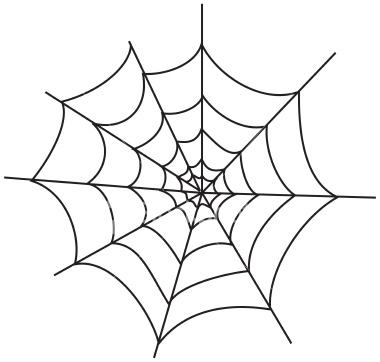 Clip art spider web clipart