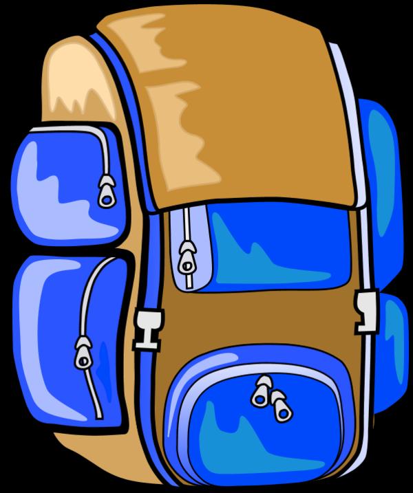 Clipart backpack tumundografico