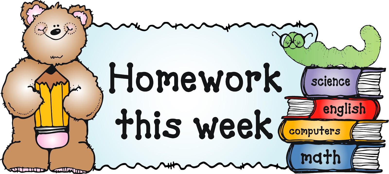 Clipart homework tumundografico 3