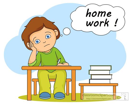 Clipart homework tumundografico 9