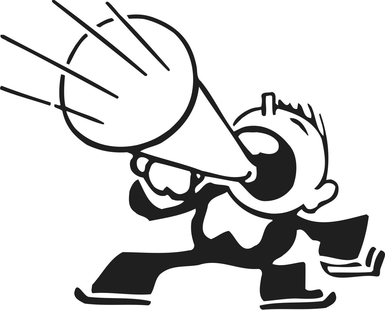 Clipart megaphone tumundografico 3