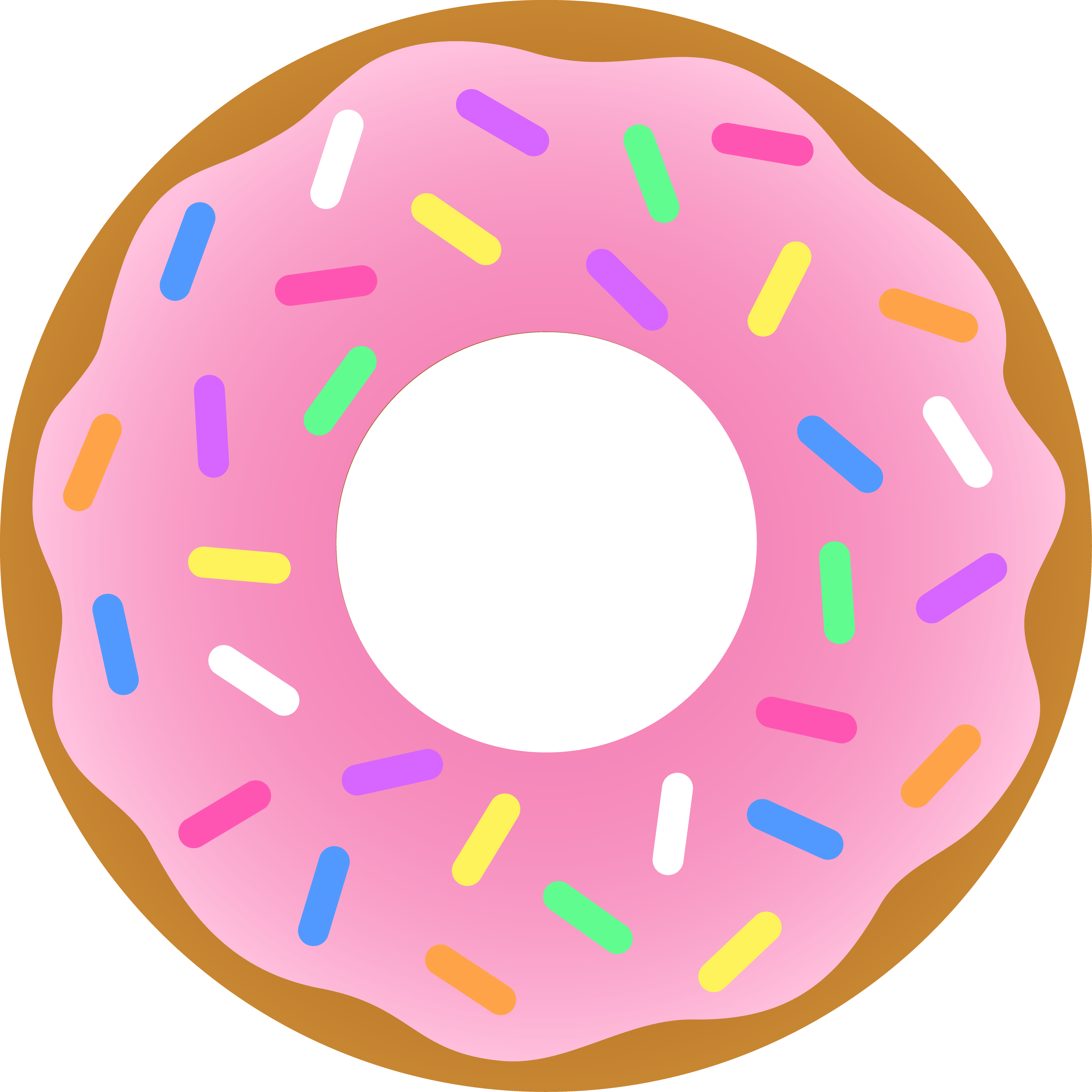 Coffee and donuts clipart free images