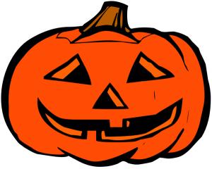 Colorful pumpkins clip art download