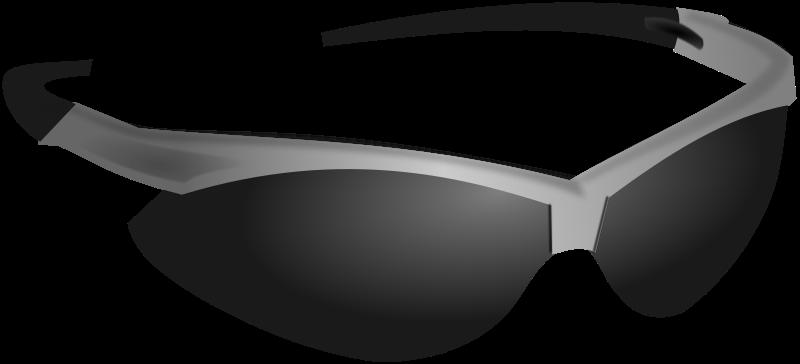 Cool glasses clipart 2