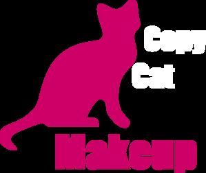 Copycat makeup clip art at vector clip art