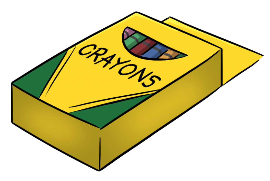 Crayon clipart free clipartfox