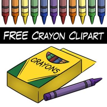Crayon teachers clipart