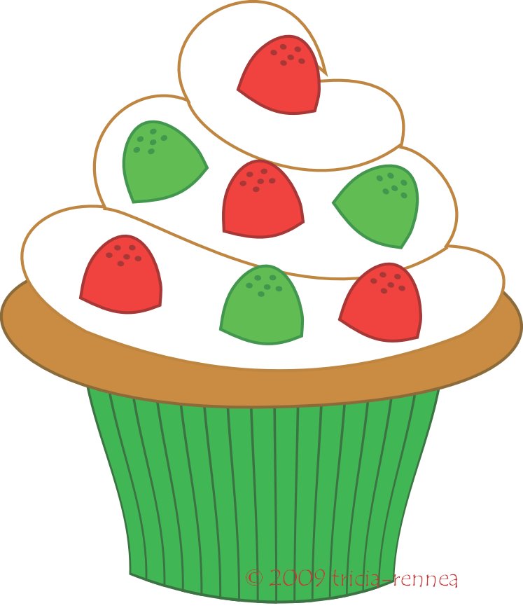 Cupcake clip art free clipart images 4