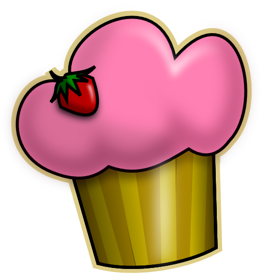 Cupcake clip art free clipart images 5