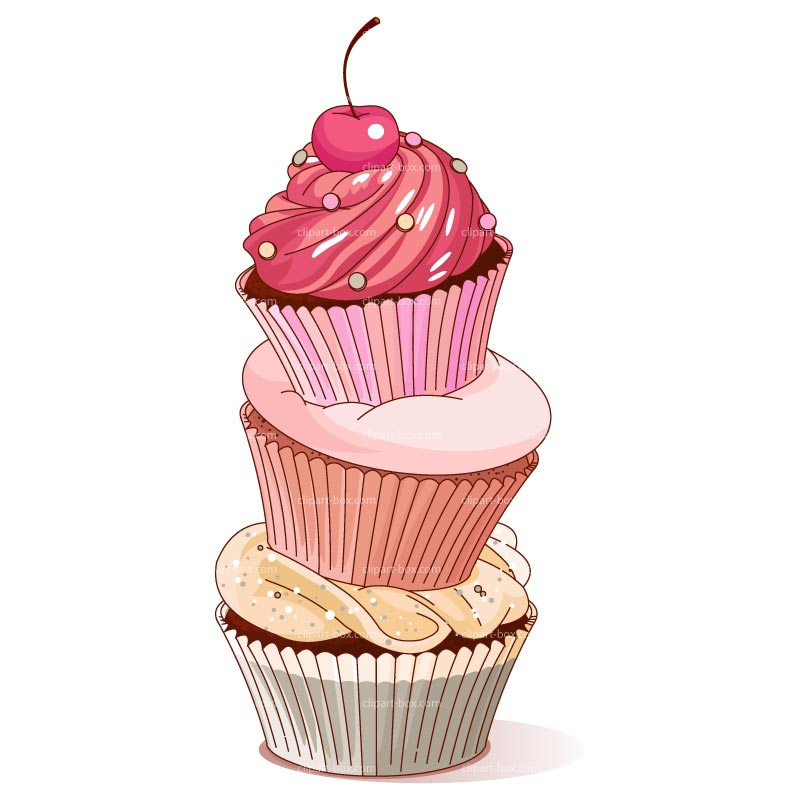 Cupcake clip art silhouette free clipart images