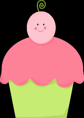Cupcake clipart 3