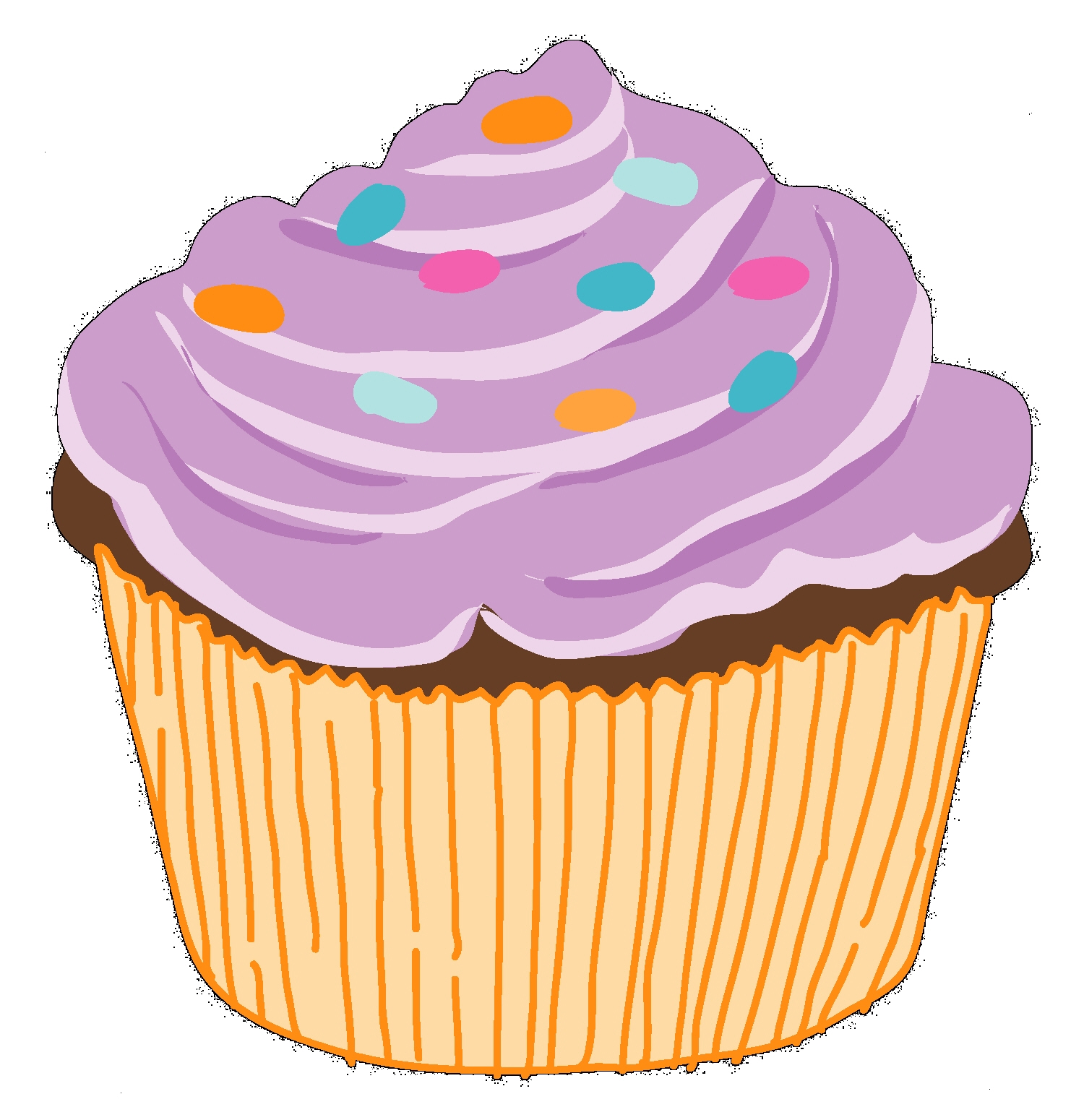 Cupcake clipart free download images 4