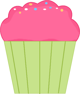 Cupcake clipart free images 2