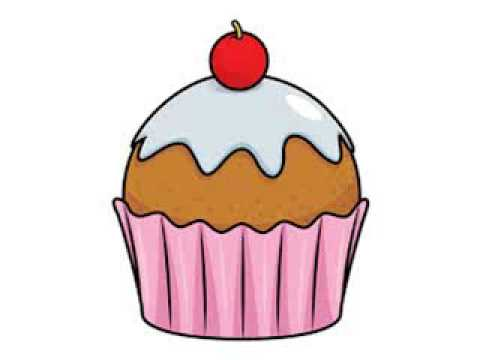 Cupcake clipart youtube