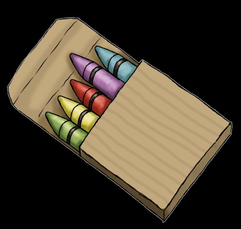 Cute crayons clip art clipart