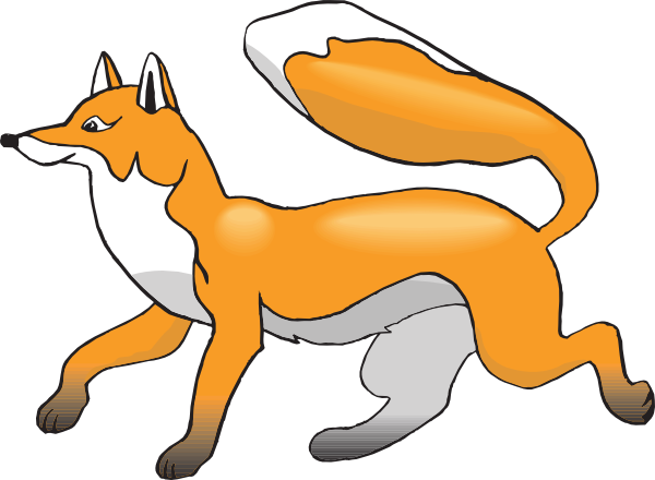 Cute fox clipart free images 2