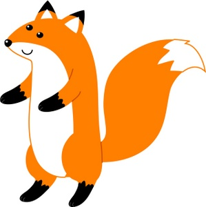 Cute fox clipart free images 3