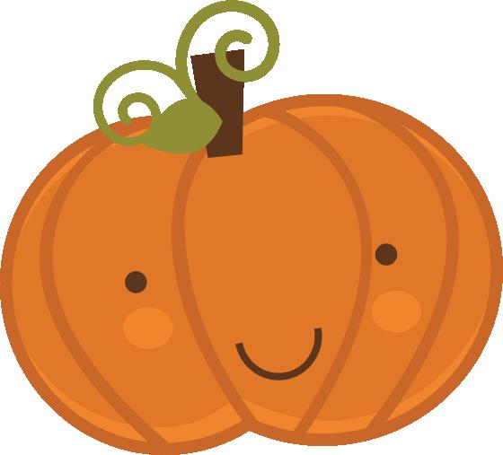 Cute halloween pumpkin clipart 2