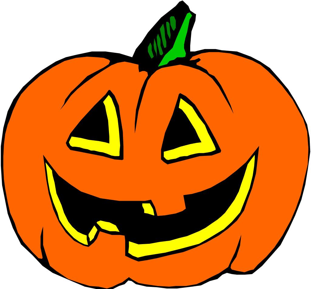 Cute halloween pumpkin clipart