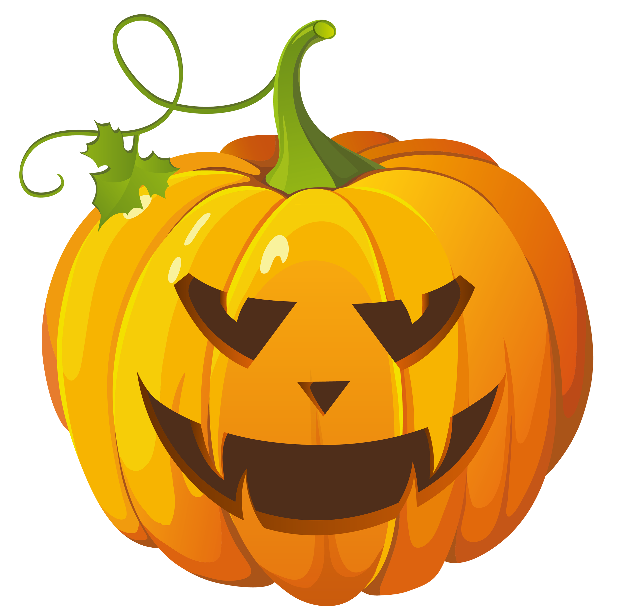 Cute pumpkin clip art free clipart images