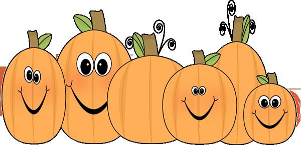 Cute pumpkin clipart free