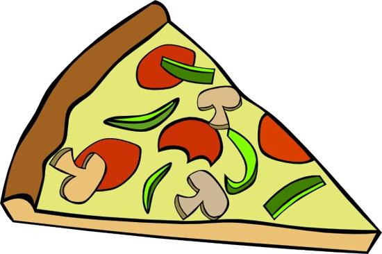 Cutting pizza clip art cutting image