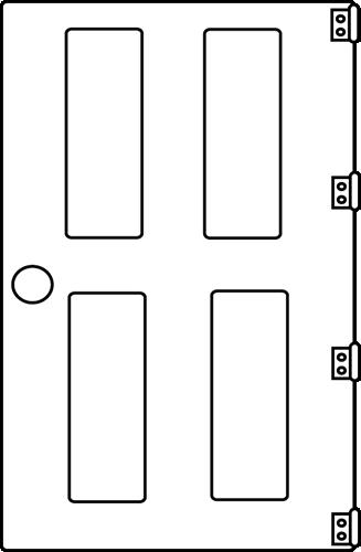 Door clipart 8 image