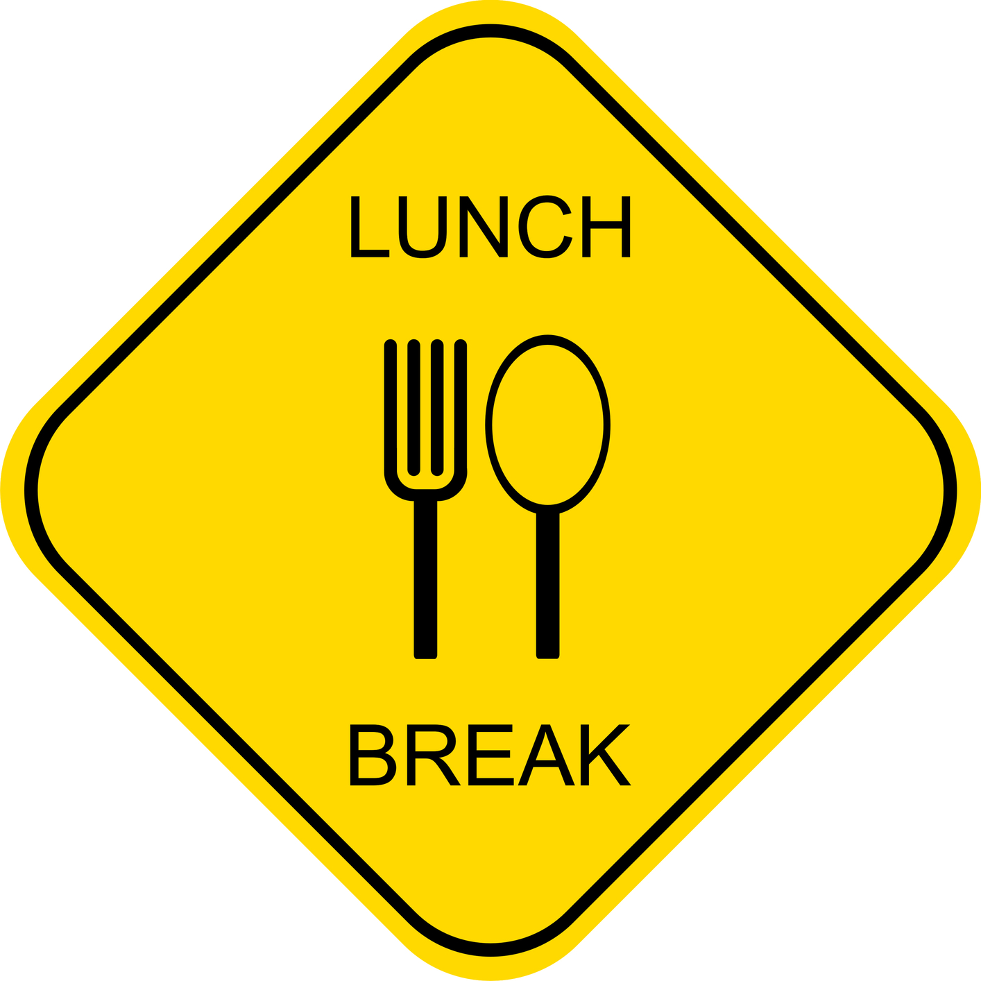 Employee lunch clipart