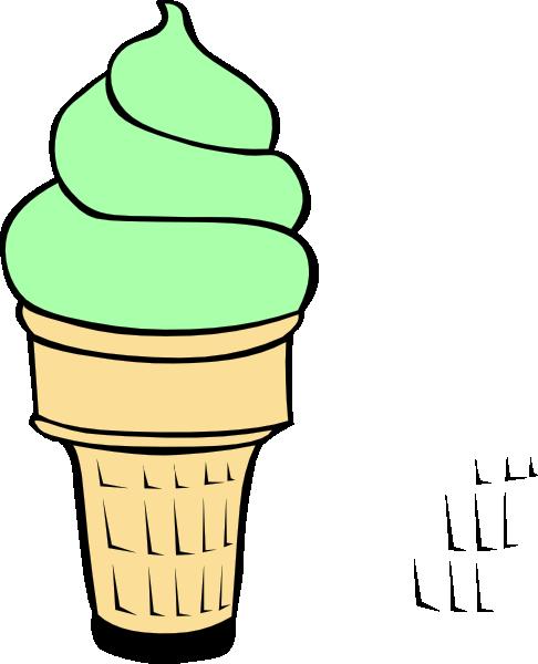 Empty ice cream cone clipart free images 2