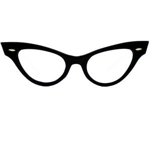 Eye glasses frame clipart
