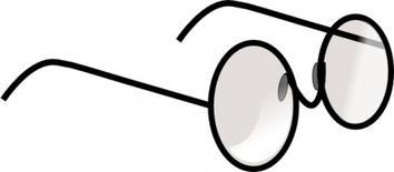 Eyeglasses clip art free vector vectors