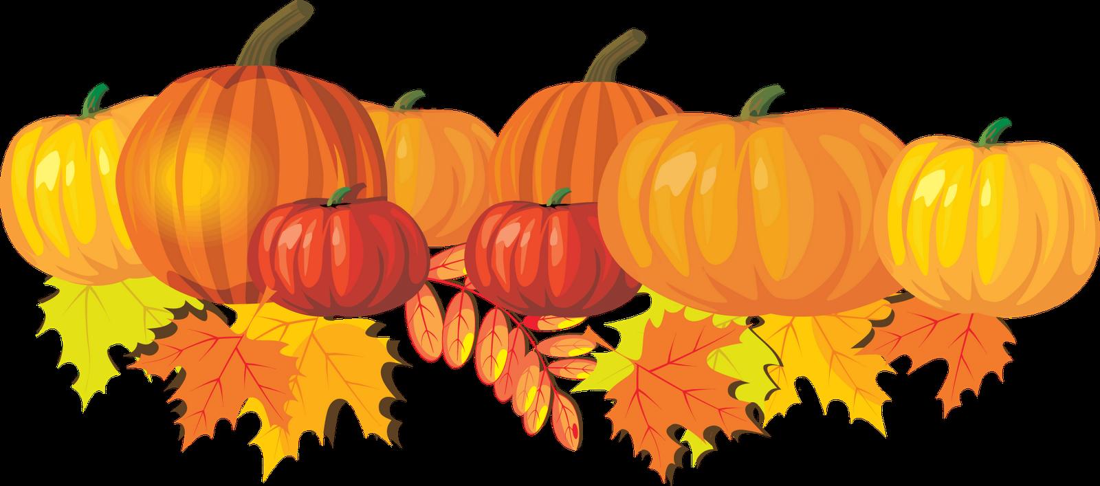 Fall pumpkin clipart 2